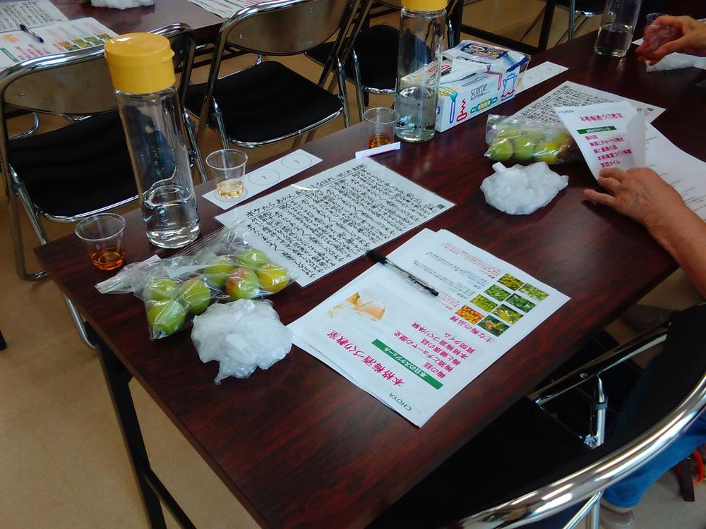 チョーヤの「本格梅酒づくり教室」