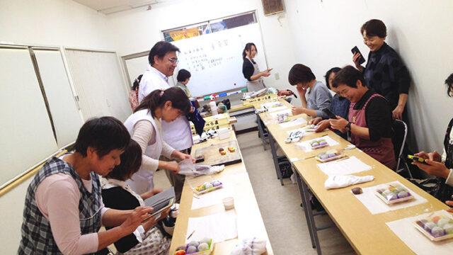 かつら屋の和菓子教室