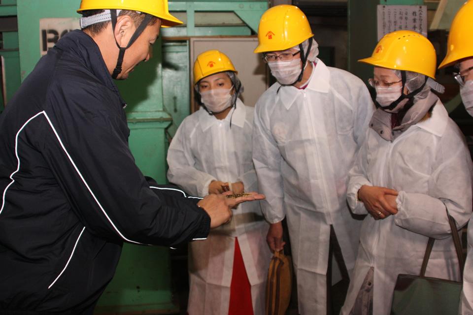 岡村製油株式会社工場見学