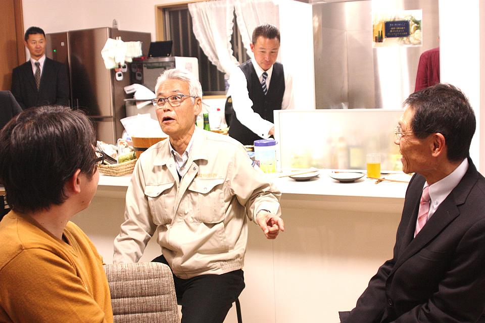高井社長と岡村社長