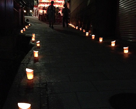 太平寺の万灯会がさらに賑やかに