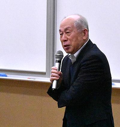 関西福祉科学大学八田武志学長