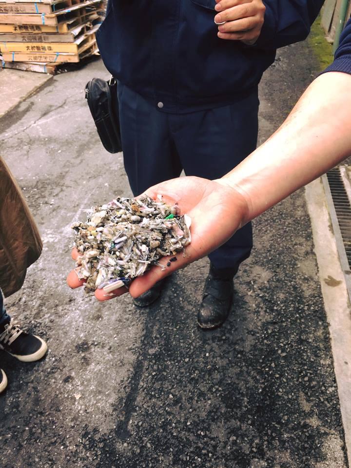 大和板紙株式会社の工場見学「リサイクルからデザインへ」