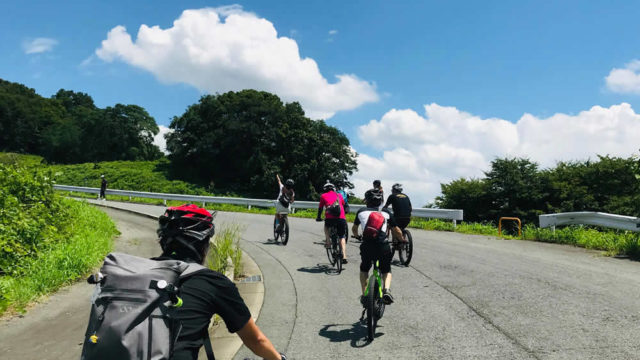 e-BIKEで柏原市の高低差と観光資源をまわるサイクリングツアー