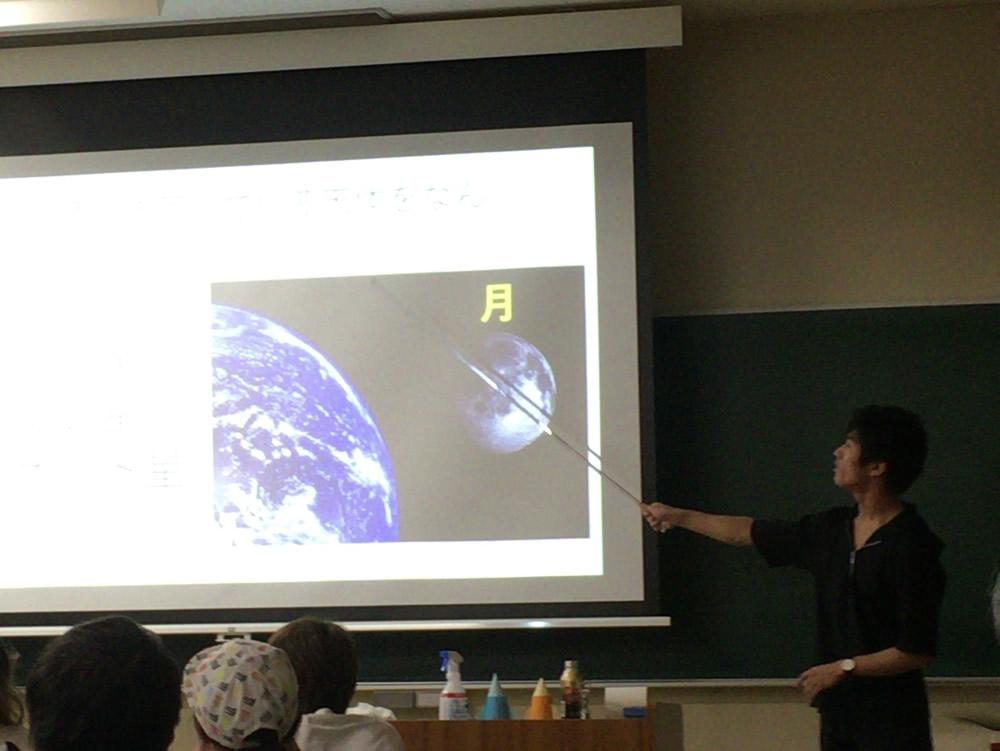 大阪教育大学で星空観察講座