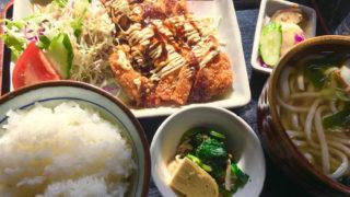 河太郎 チキンカツ定食