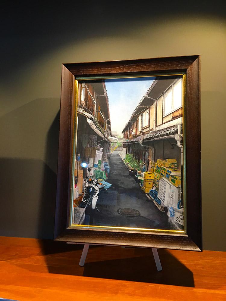 「彩アトリエ」の絵画展