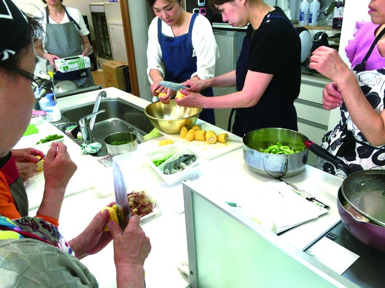 岡村製油の料理教室