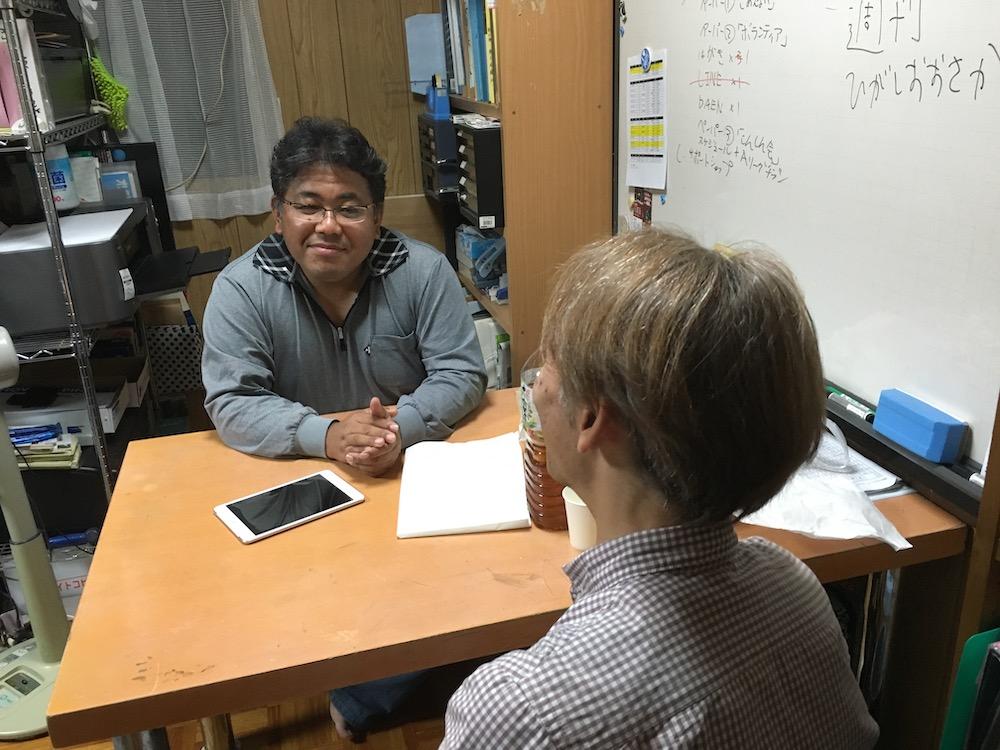 週ひが前田さんと語る「LINEはSNS?