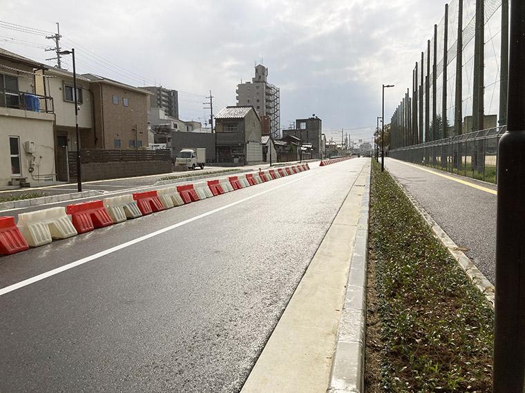 府道大県本郷線の一部が開通