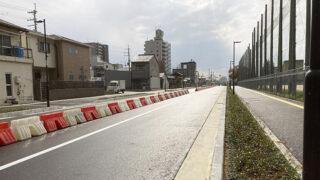 府道大県本郷線の一部が開通。柏原中学の南側と中央温泉付近を直線で結ぶ