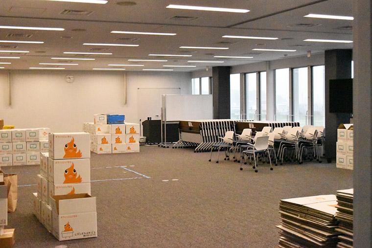 「キッズスペースや授乳室も設置」柏原市役所の新庁舎内覧会をリポート(2)