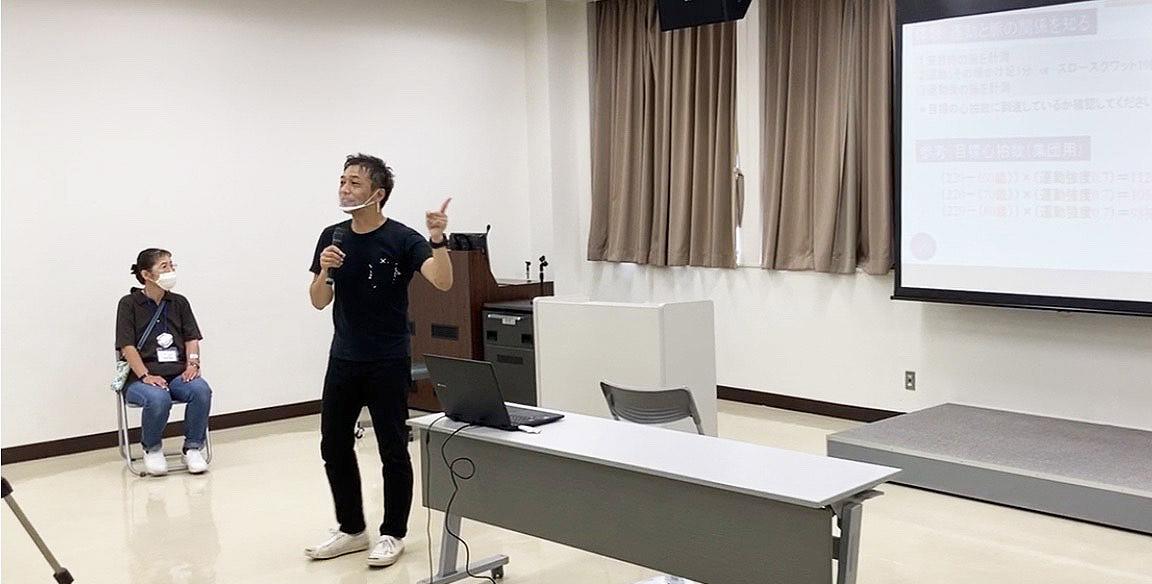 脳を鍛えるトレーニング 重森教授の講演